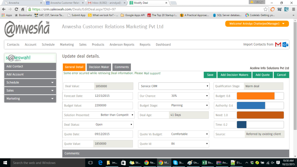 Saleswah CRM-screenshot-1