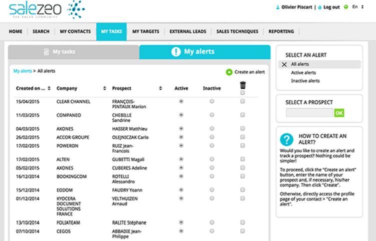 Salezeo Community-screenshot-1
