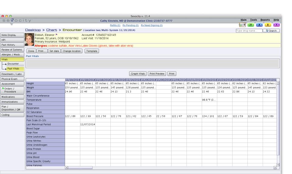 Sevocity EHR-screenshot-0