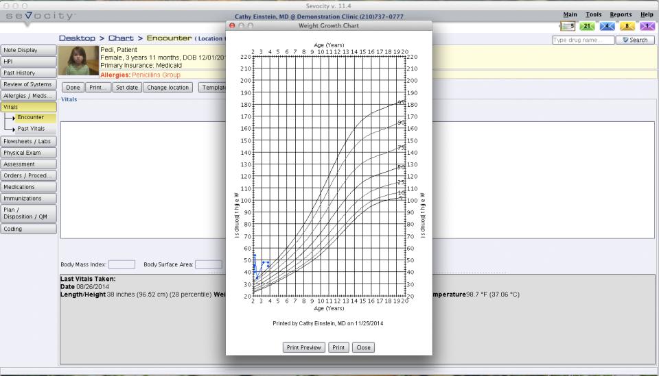Sevocity EHR-screenshot-1