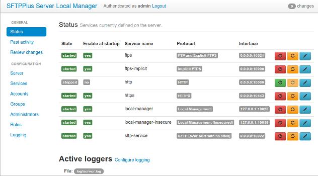 SFTPPlus-screenshot-0