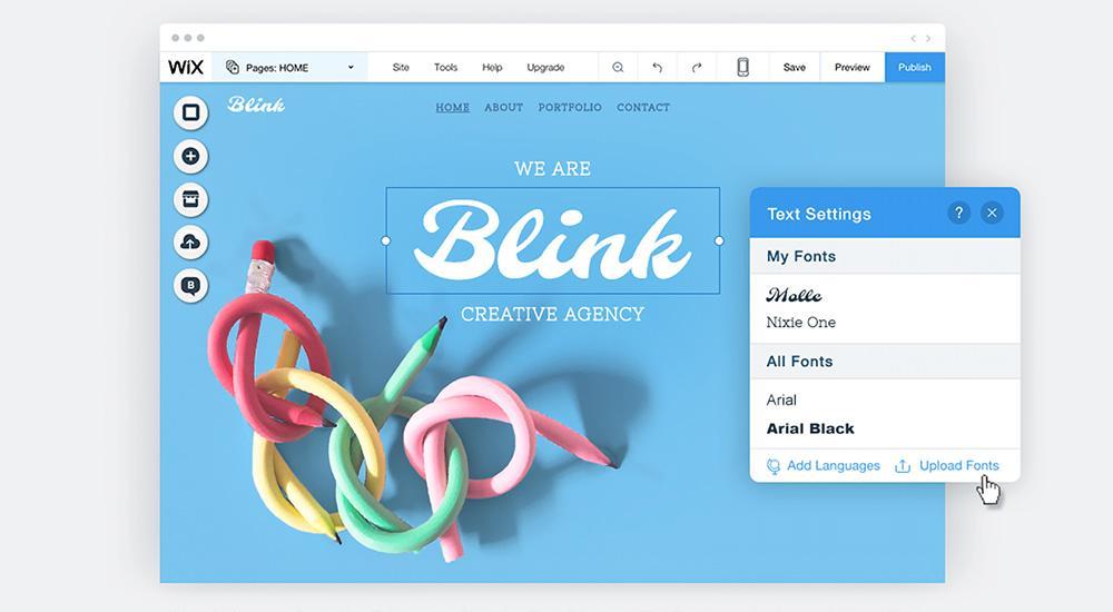 Wix création de site internet, utilisation de Templates, avis et prix