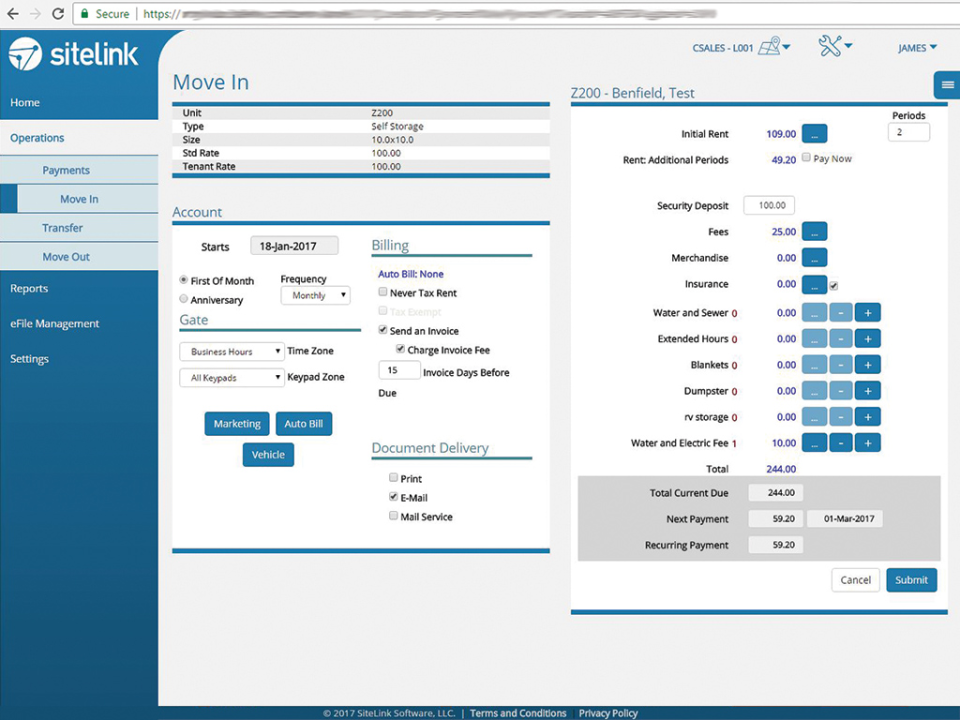 SiteLink Web Edition-screenshot-1