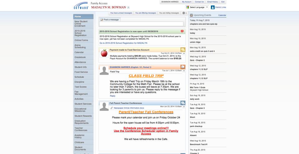 Skyward School Management-screenshot-0