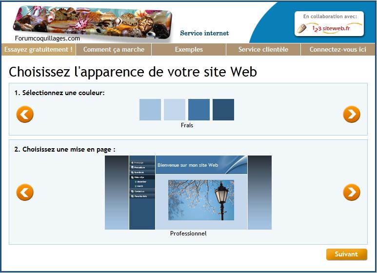 123siteweb: Référencement, Hébergement de site Web, Modèles de sites web