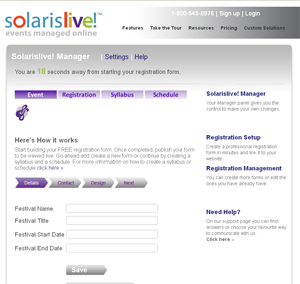 Solarislive Event Manager-screenshot-0