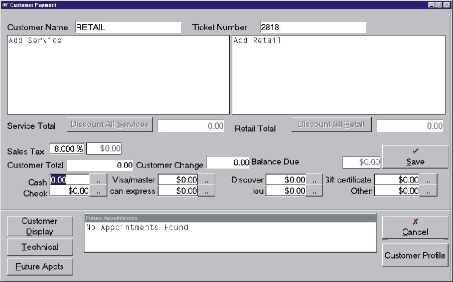 Spa/Salon Manager-screenshot-2