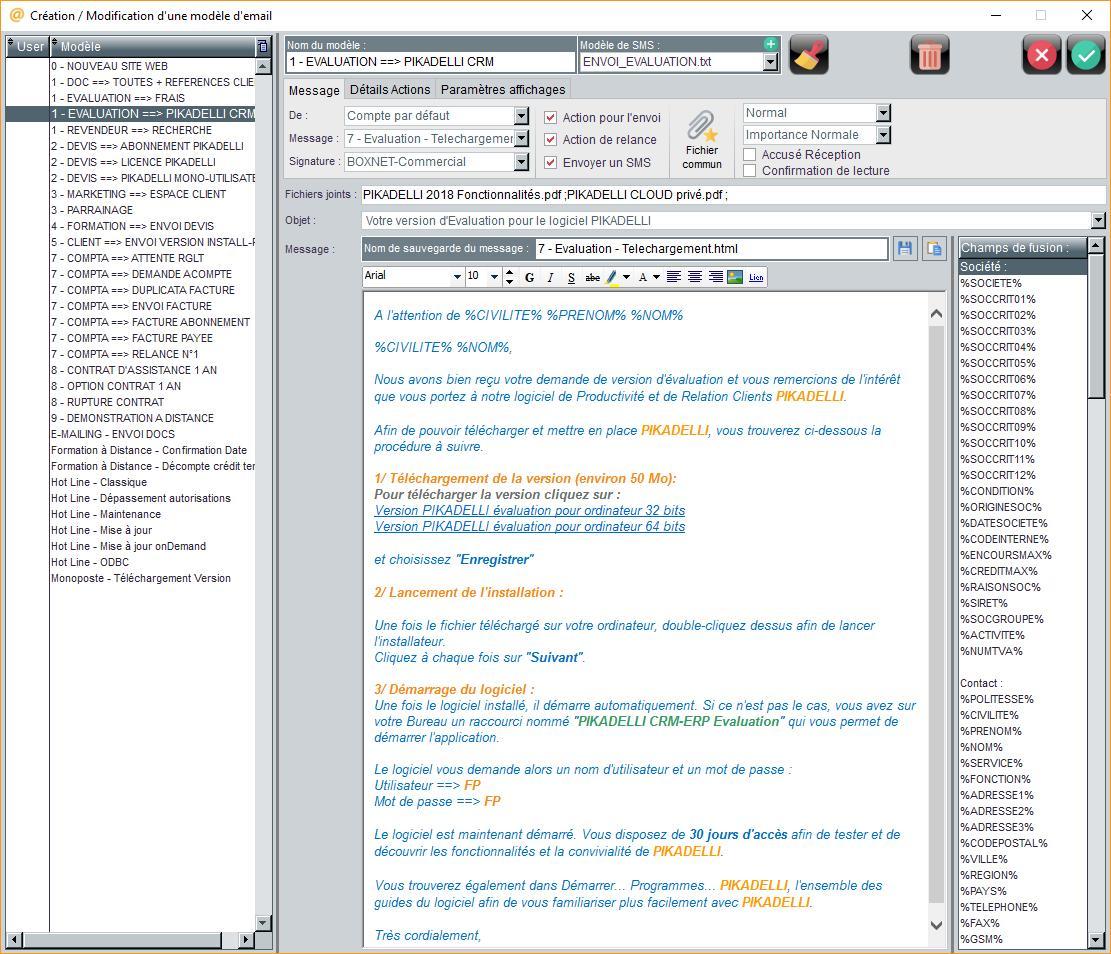 Un concept de création d'émail personnalisé le plus complet du marché synchronisé avec Microsoft Outlook...