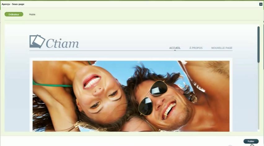 Web Editor: Formulaire de contact, Logo personnalisable, Hébergement de site Web