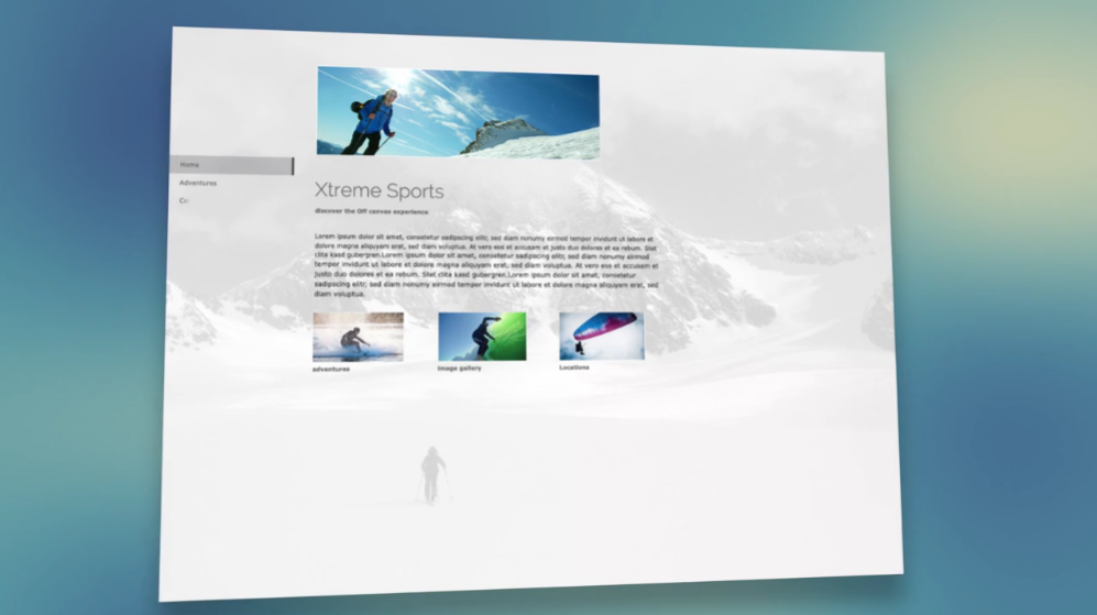 Jimdo: Design Responsive, Webmail (gestion des emails), Interface web adaptive
