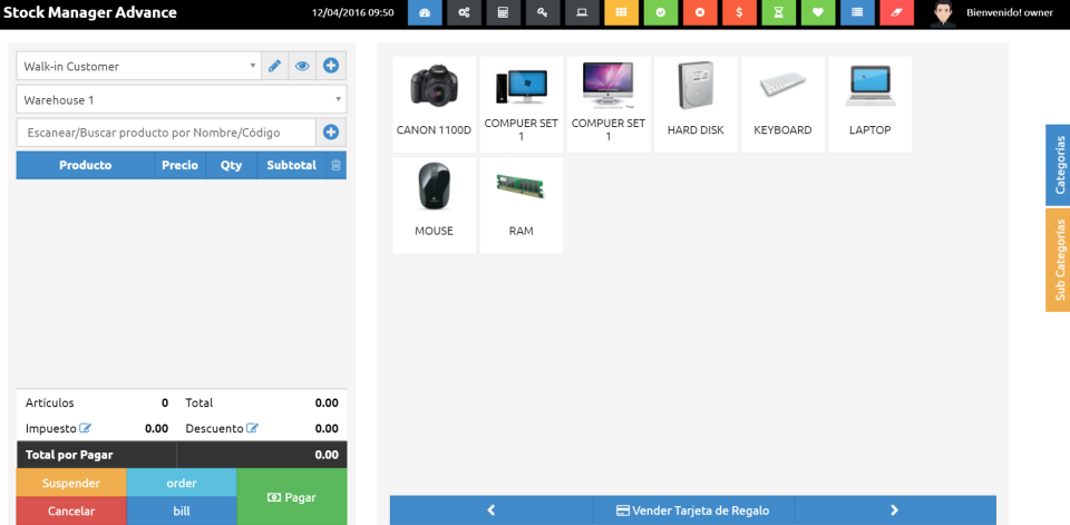 Storezigo POS-screenshot-0