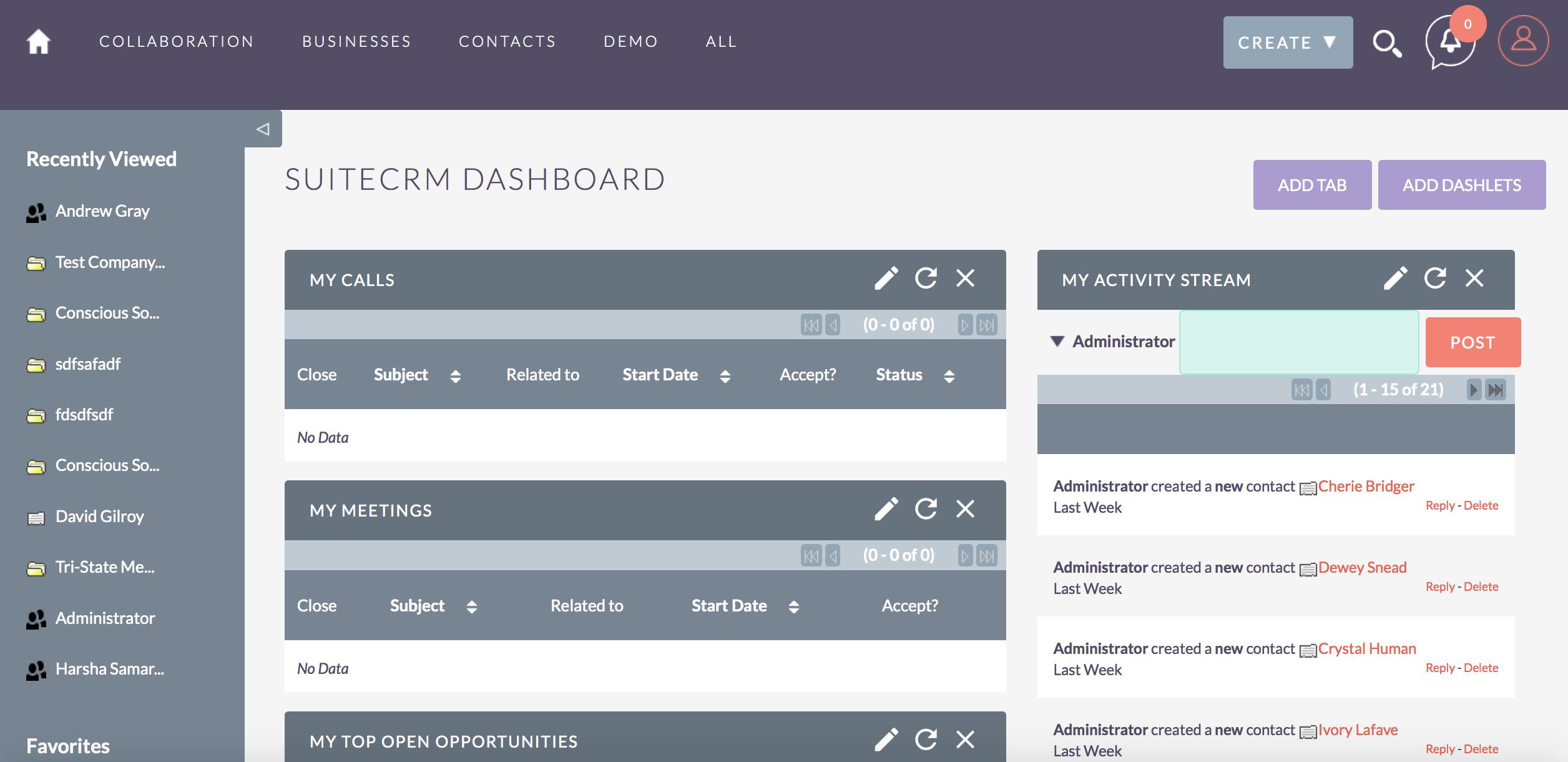Avis SuiteCRM : Logiciel de Customer relationship management (CRM) - appvizer