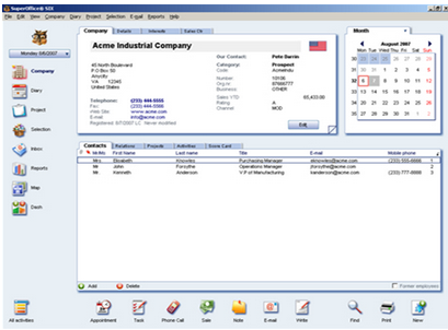 SuperOffice CRM-screenshot-0