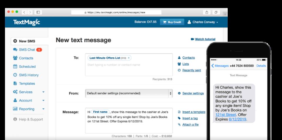 TextMagic-screenshot-0