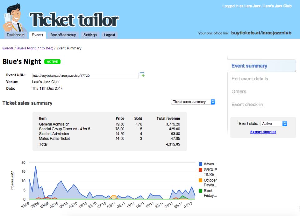 Ticket Tailor-screenshot-1