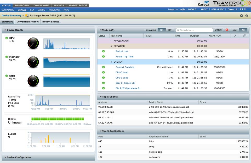 Traverse Monitoring-screenshot-1