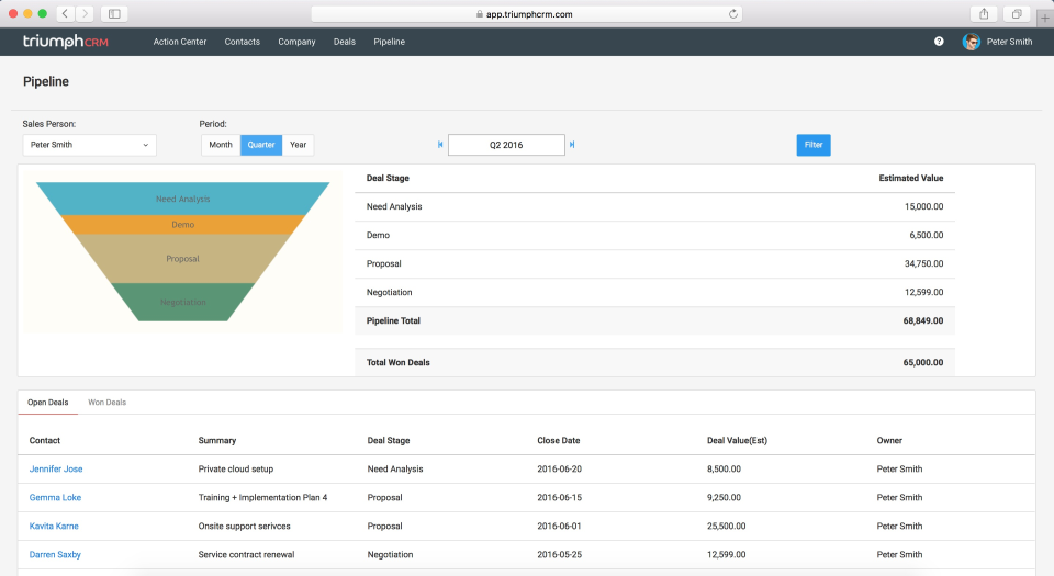 TriumphCRM-screenshot-3