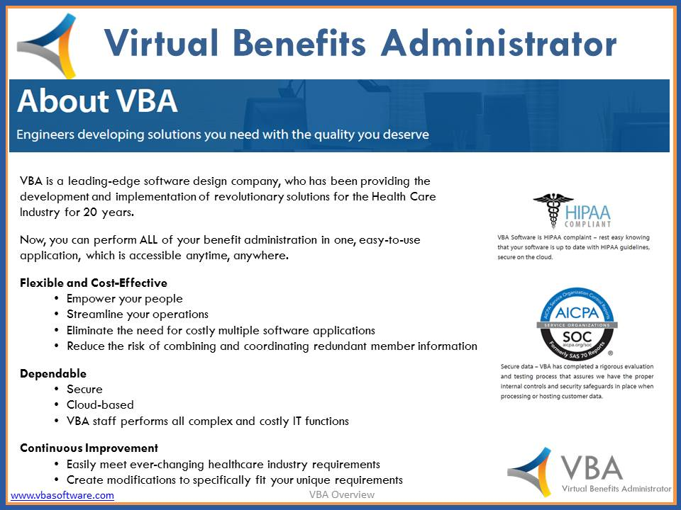 Virtual Benefits Administrator-screenshot-0