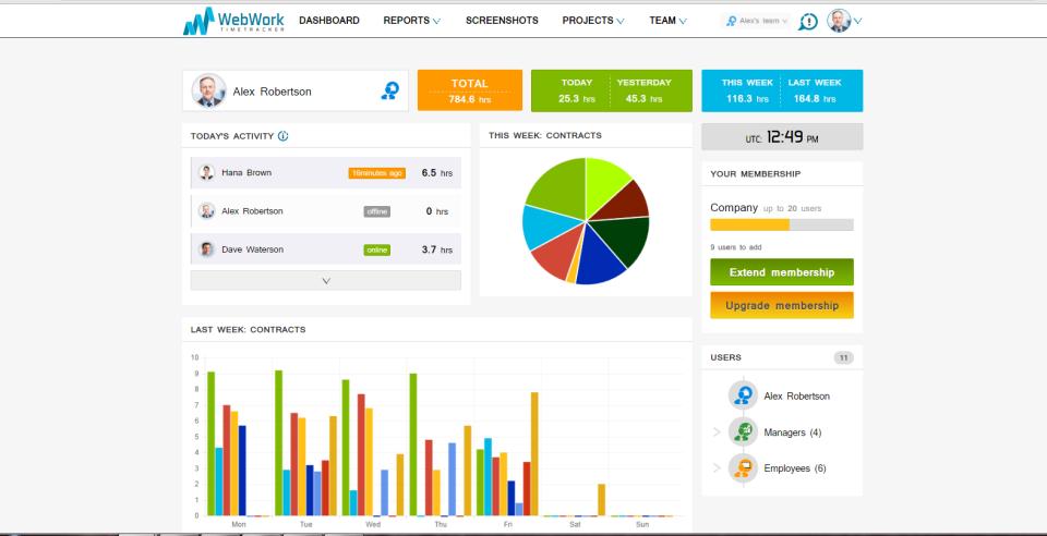 WebWork Time Tracker-screenshot-0