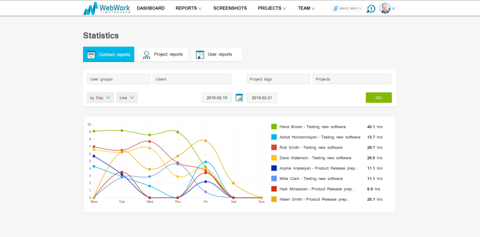 WebWork Time Tracker-screenshot-3