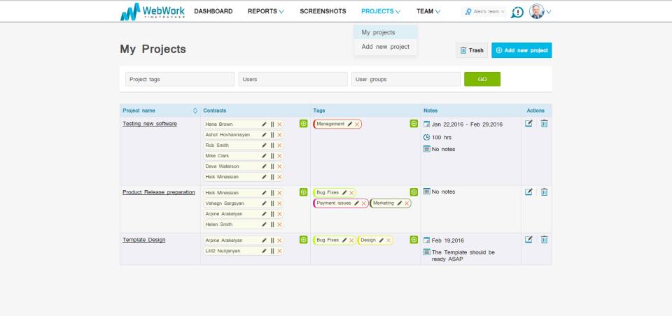 WebWork Time Tracker-screenshot-4