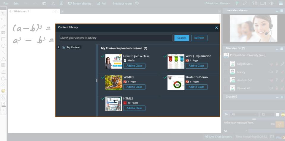 WizIQ Virtual Classroom-screenshot-0