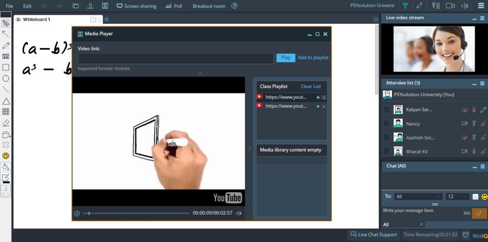 WizIQ Virtual Classroom-screenshot-1