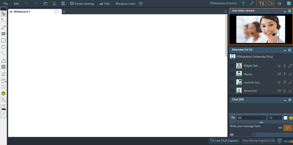 WizIQ Virtual Classroom-screenshot-3