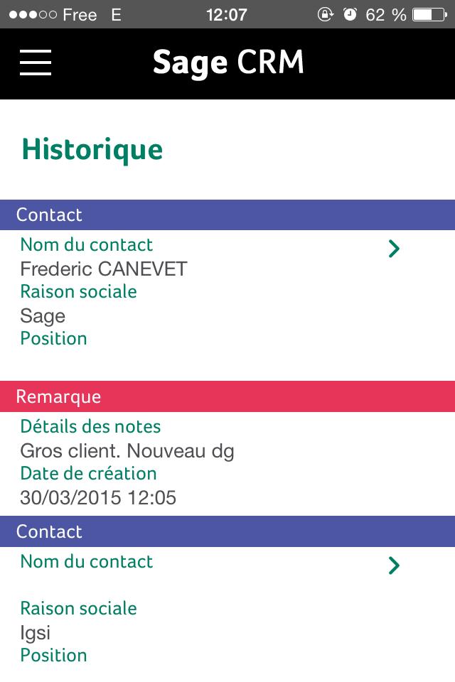 Sage CRM: Géo-localisation des clients, Standard d'encodage avancé (AES), Base de savoir, wiki