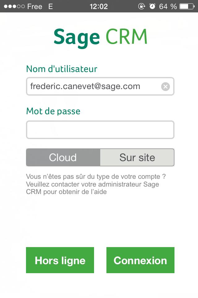 Sage CRM: Mise en page et thèmes, Bon de commande, Gestion des utilisateurs