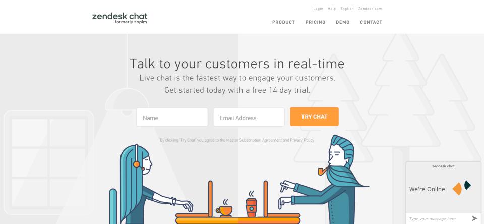 Zendesk Chat-screenshot-0