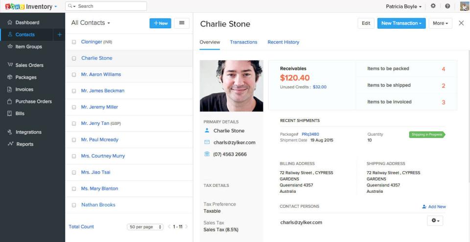 Zoho Inventory-screenshot-3
