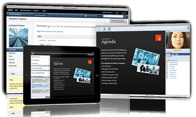 SmartCloud: Visionneuse de documents, Sauvegarde quotidienne, Intranet & Communauté
