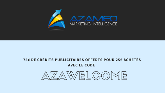 Code promotionnel : AZAWELCOME