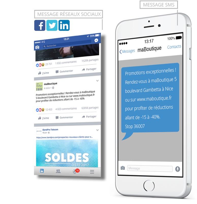 iSend Pro : SMS interactif