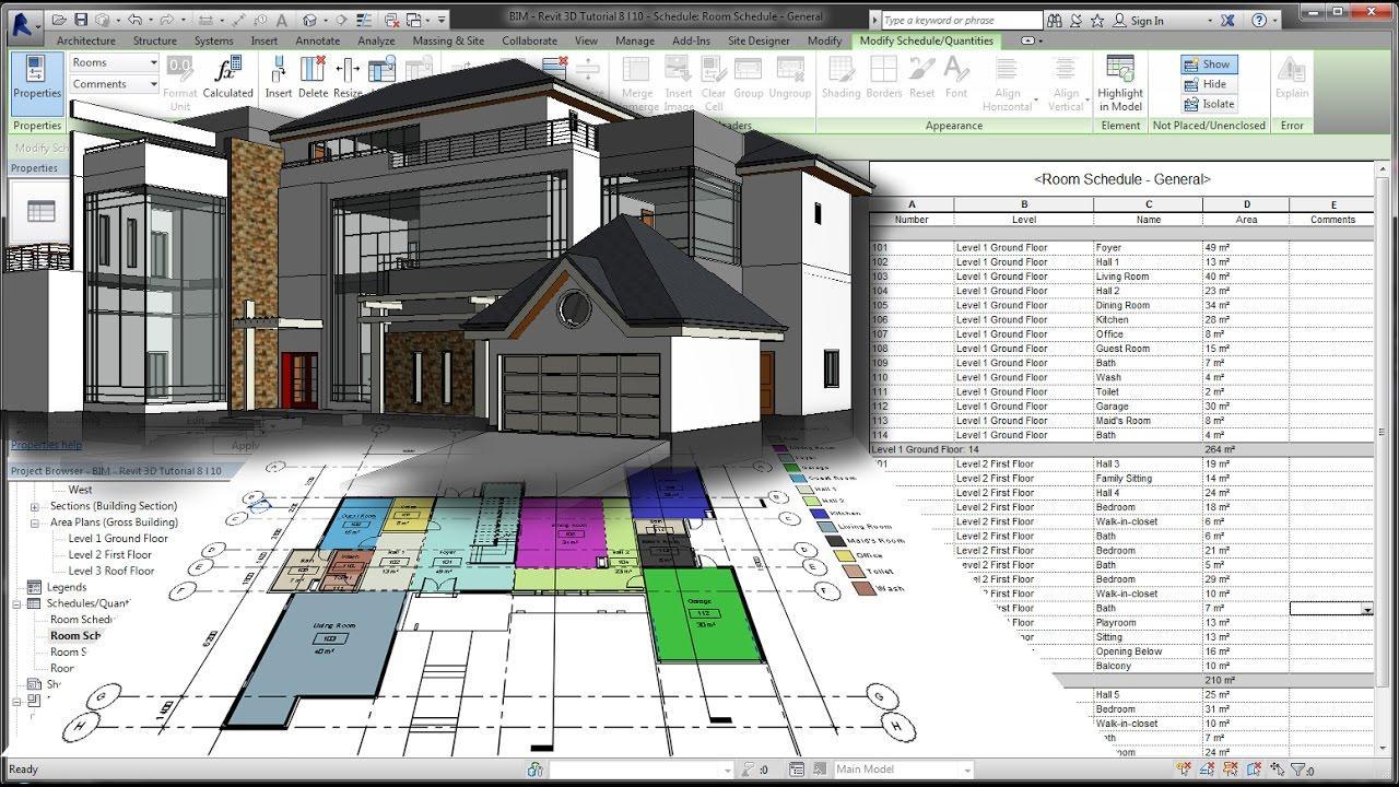 Revit : Avis, Prix ⇒ Logiciel d'Architecture par AutoDesk, Logiciel BIM