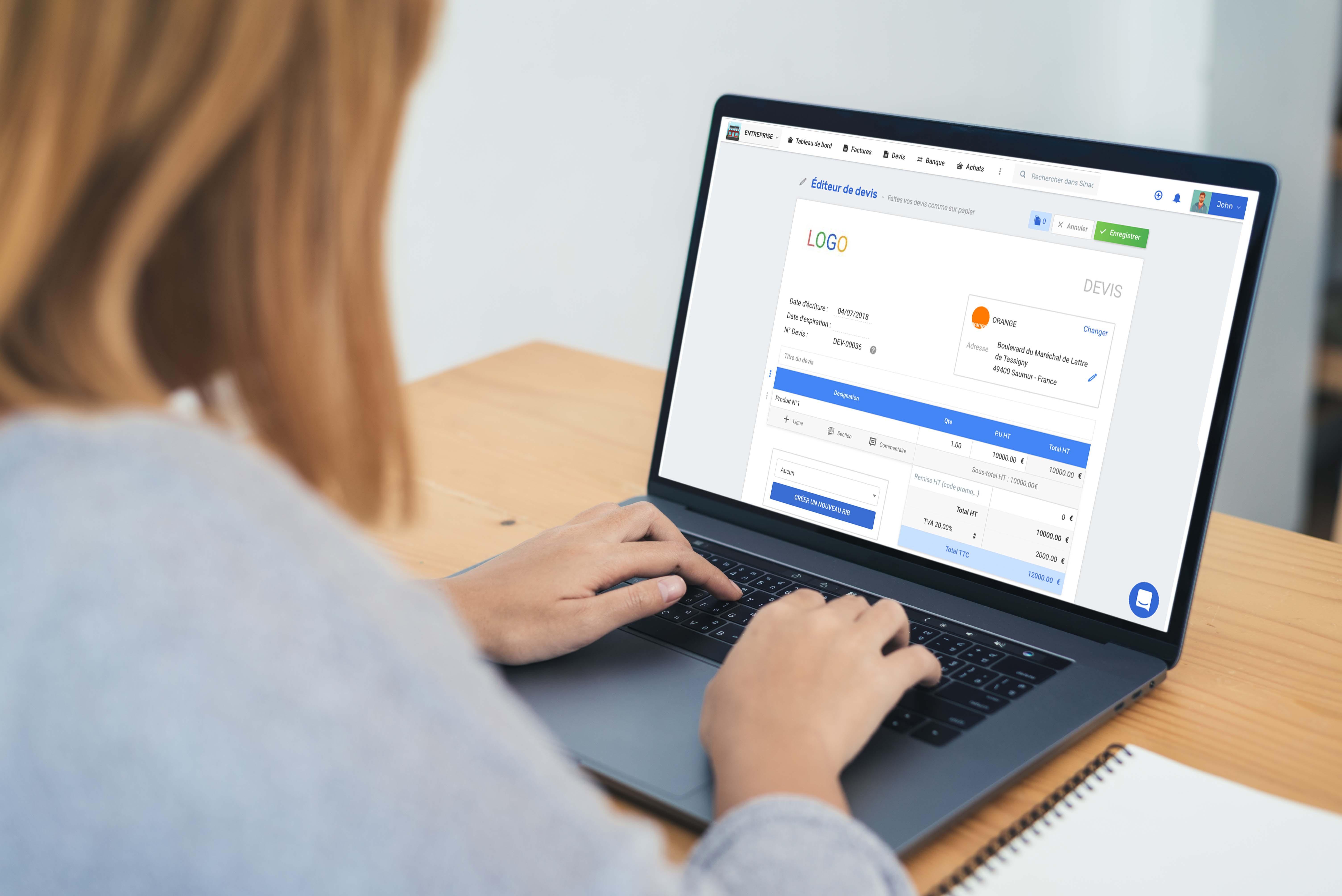 Avis Sinao Comptabilité & Gestion : Gérer rapidement toute la comptabilité de votre TPE/PME - appvizer