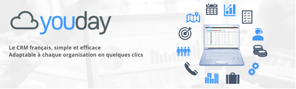 Avis Youday CRM : Le CRM simple & efficace, qui s'adapte à chaque organisation - Appvizer