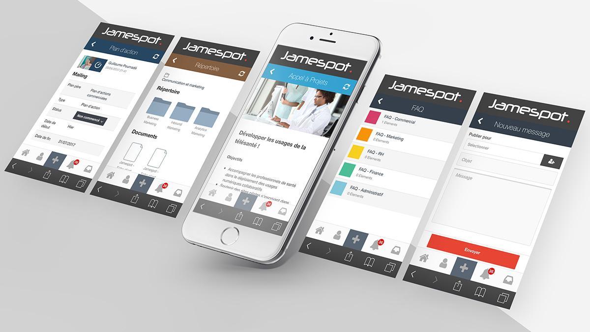 Avis Jamespot Digital Workplace : portail web pour centraliser ses outils en ligne & ses infos - Appvizer