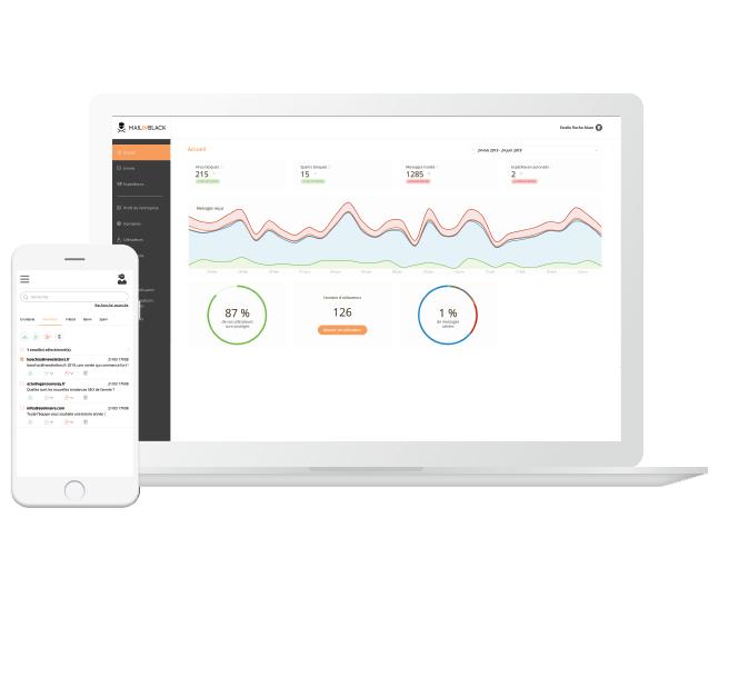 L'administrateur de la solution a accès à une interface dédiée pour une gestion globale. Il garde le contrôle de la solution grâce à des paramétrages personnalisables avec un niveau de hiérarchie supérieur.