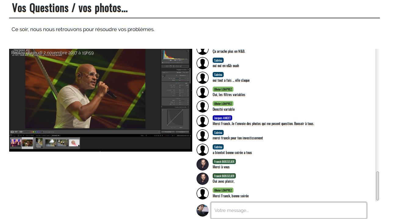 Live & replay de vidéoconf sont disponibles sans surcoût
