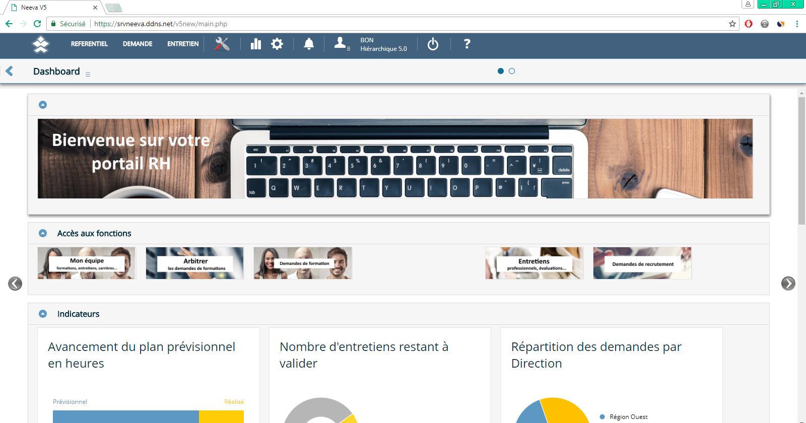 Avis NEEVA : Solution de gestion des ressources humaines - Appvizer