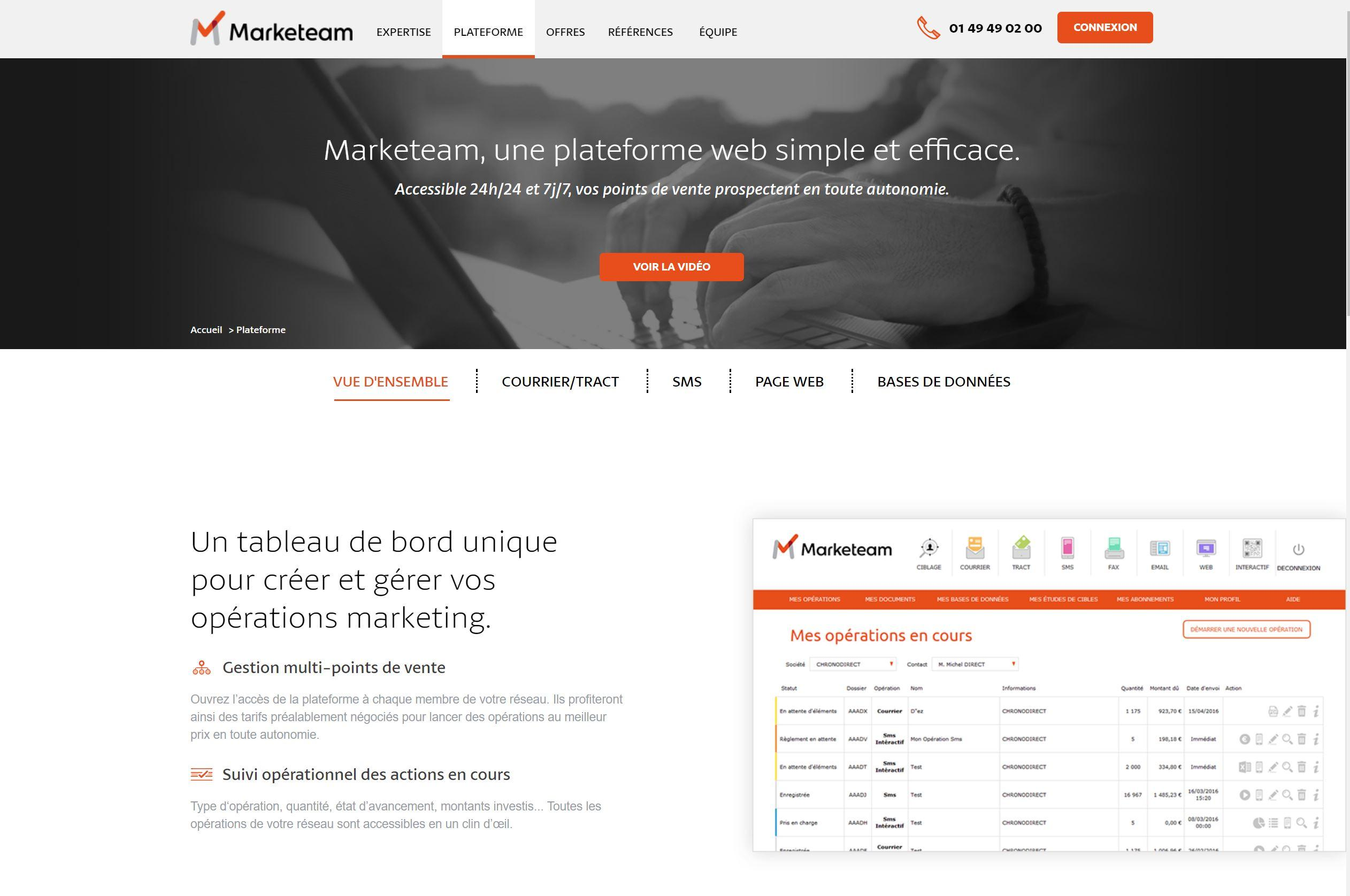 Courrier, SMS, SMS 2.0, Tract, Emailing, Page web...