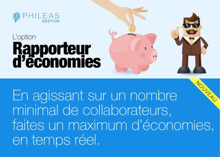 Rapporteur d'économies