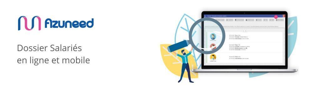 Avis Azuneed RH - Dossier Salariés : Suivi des documents RH des salariés pour TPE et PME - Appvizer