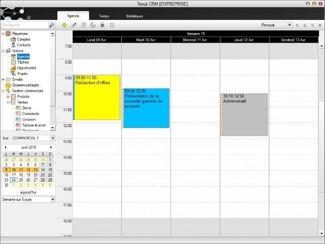 Agenda individuel ou agenda partagé en équipe