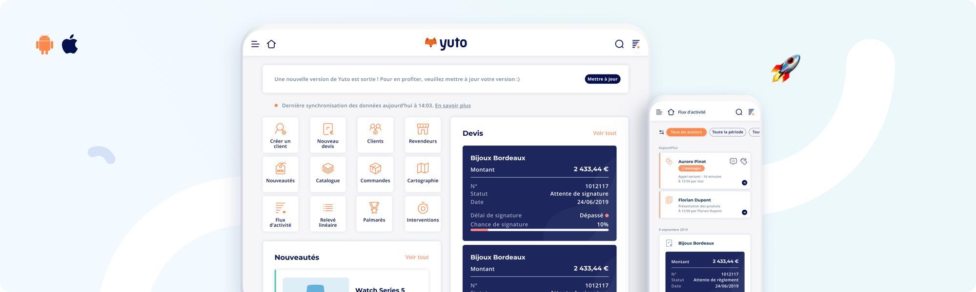 Avis Yuto : Le CRM français mobile connecté - Appvizer