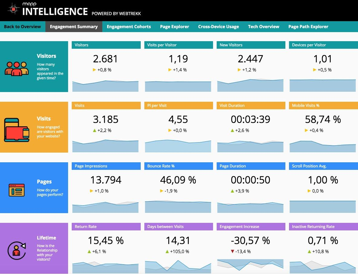 Dashboard Mapp Intelligence