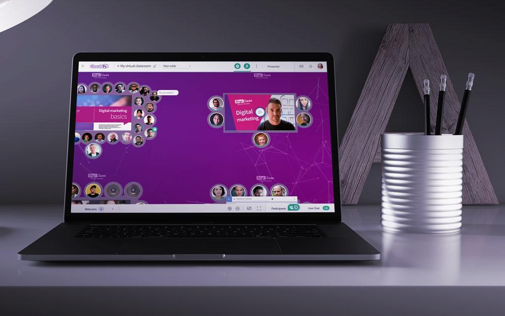 Avis Glowbl : Solution innovante de classes et de réunions virtuelles - Appvizer