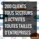 Près de 200 clients utilisateurs du logiciel Candidatus de gestion des recrutements et des candidatures